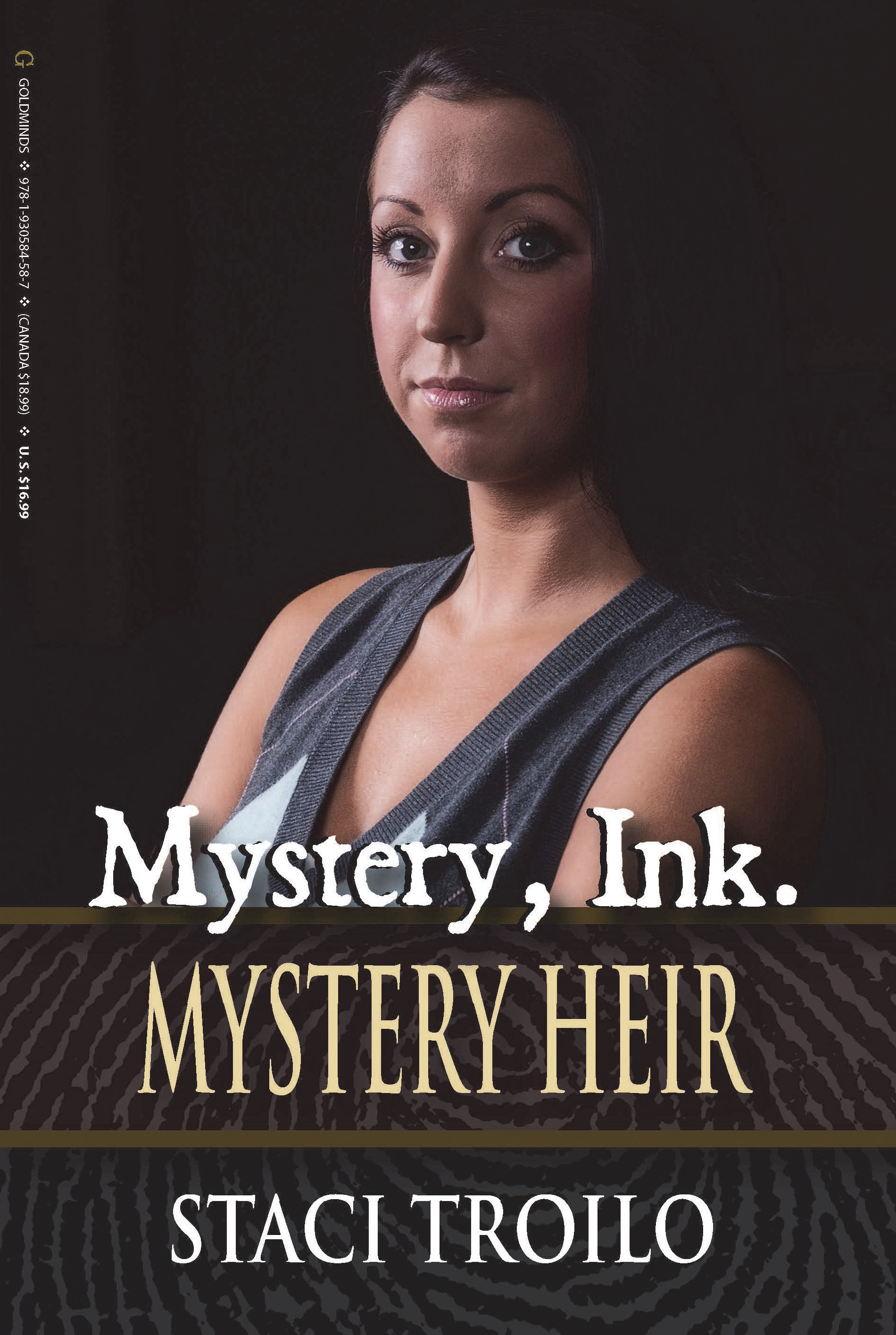 Mystery, Ink: Mystery Heir Book Cover